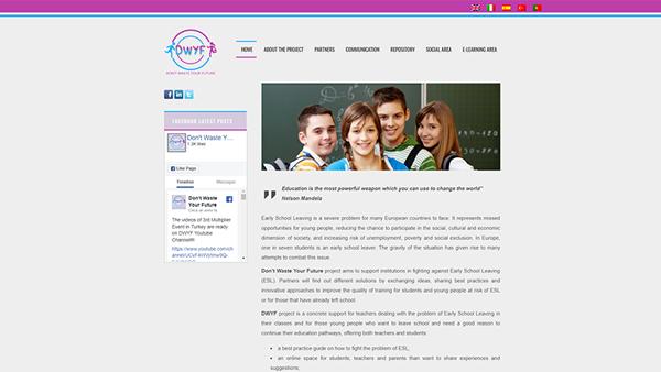DWYF sito web anteprima