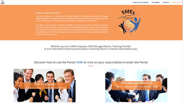 SME sito web anteprima